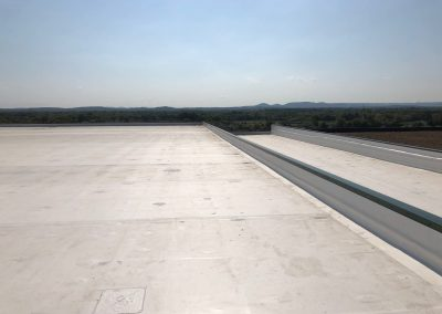 Two Tier Commercial Flat Roof Install
