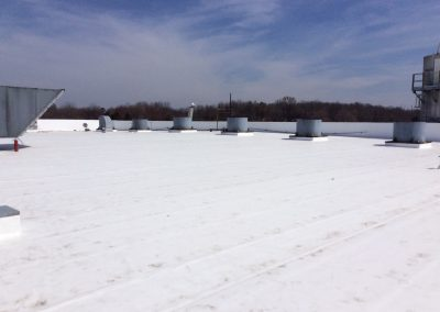 Commercial Roof Replacement Work