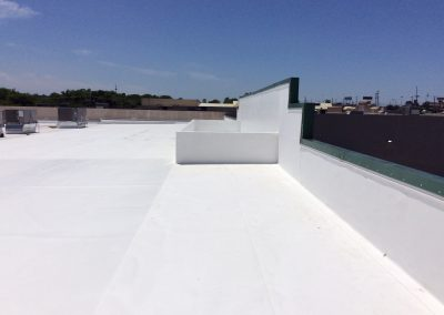 Commercial Roof Replacement Job